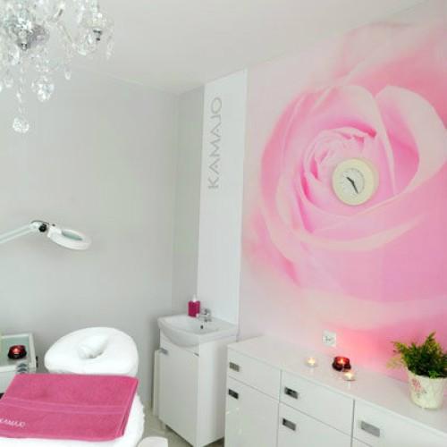 KAMAJO - Fotele kosmetyczne pedicure VITRA oraz lampa Delux LED